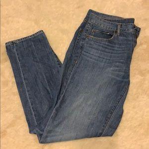 Boyfriend Style J-crew Jeans